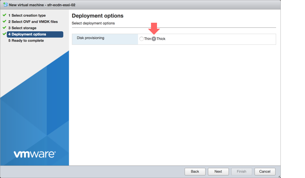 Disk provisioning