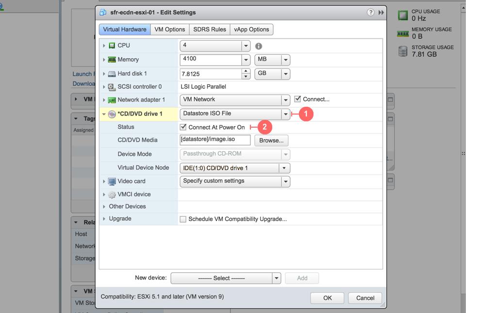 Load ISO file